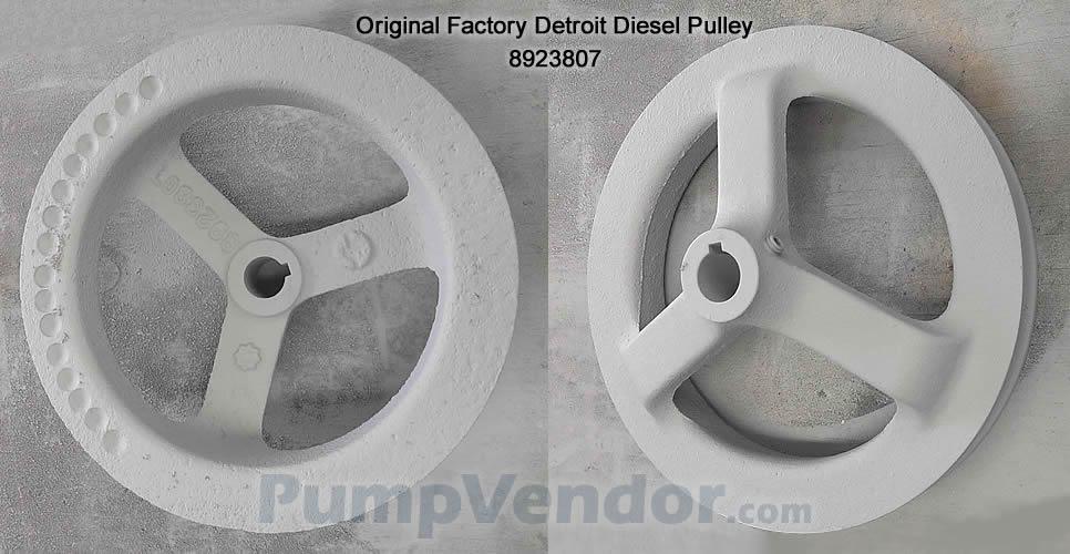 Detroit Diesel 8923807 Pulley