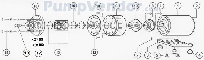 Flojet_02100-733A_parts