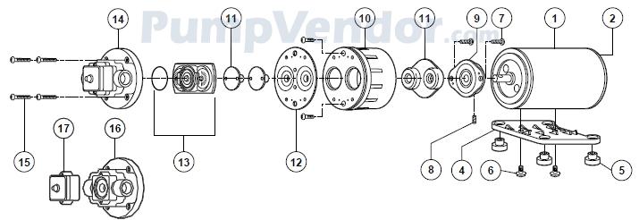 Flojet_02135-131_parts