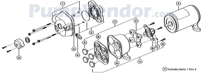 Flojet_02840-210_parts
