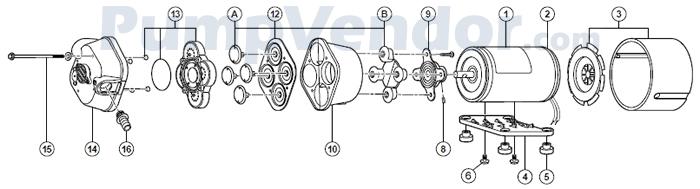 Flojet_04100-500_parts