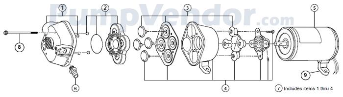 Flojet_04105-503A_parts