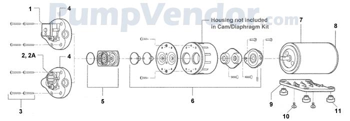 Flojet_D1635J7011A_parts