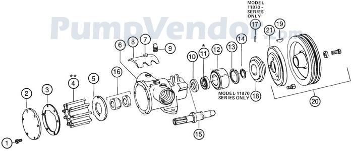 Jabsco_11860_series_parts