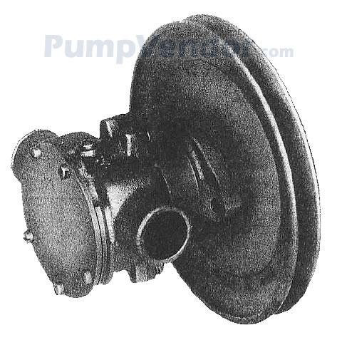 Jabsco 17200 0001 Parts List