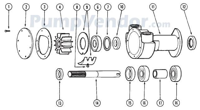 3 0 mercruiser impeller replacement