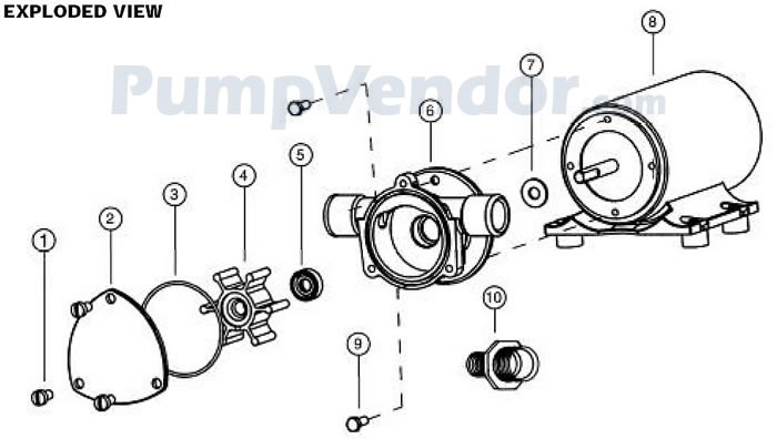 Jabsco_18660_series_parts