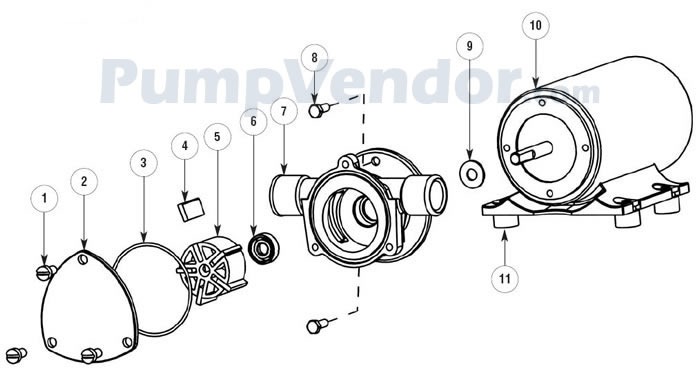 jabsco 24v alternator wiring diagram