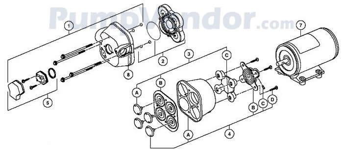 Jabsco_31605_31610_series_parts