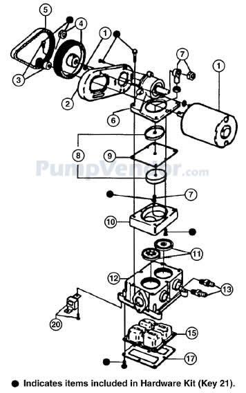 Jabsco 36680 2000 Parts List