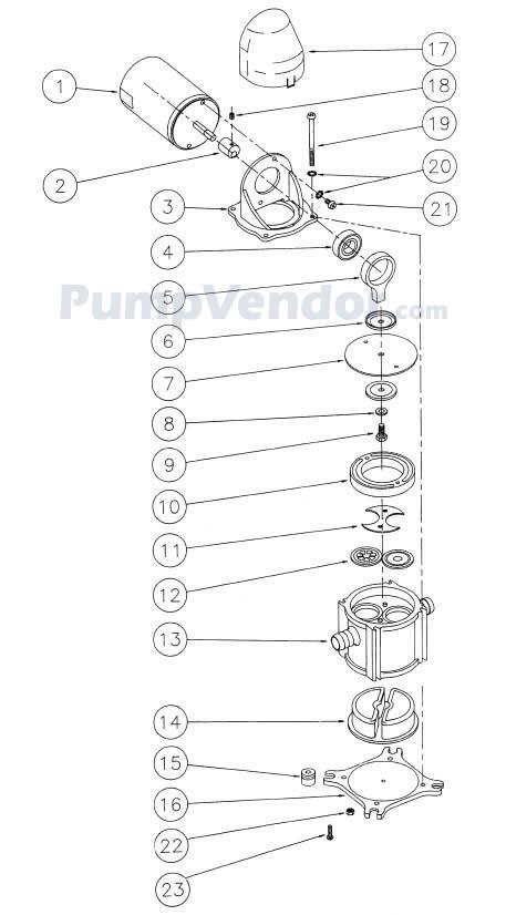 Jabsco 37202 2012 Parts List