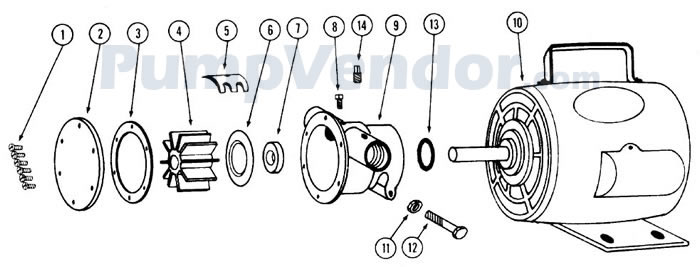 Jabsco_6050_series_parts