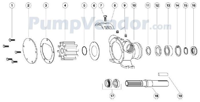 Jabsco_6400_7420_series_parts