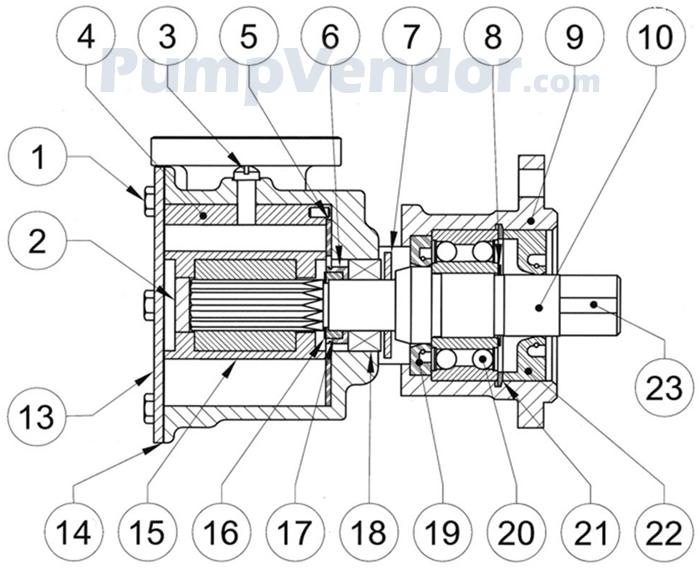 jabsco 9700 01 parts list rh pumpvendor com Electric Heat Pump Wiring Diagram Nordyne Heat Pump Wiring Diagram