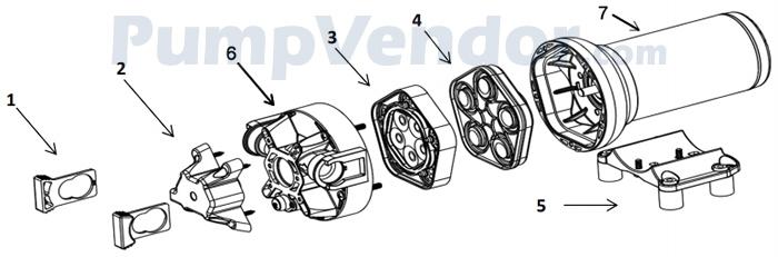 Jabsco_P501J-118S-3A_parts