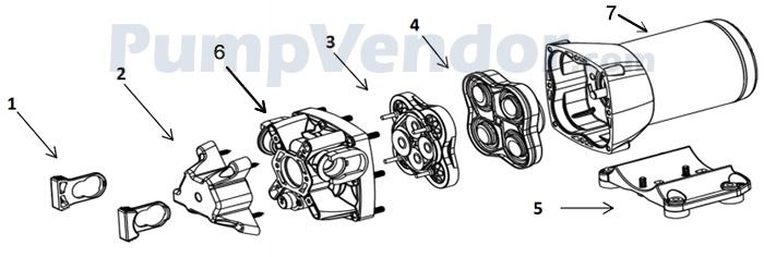 Jabsco_Q401J-118N-4A_parts