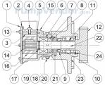Jabsco_10970_parts