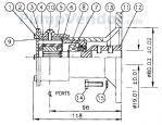 Jabsco_22860_series_parts