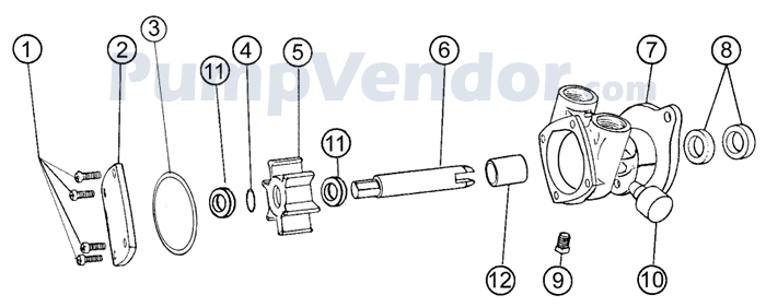 Onan marine genset mdkc parts manual | ebay.