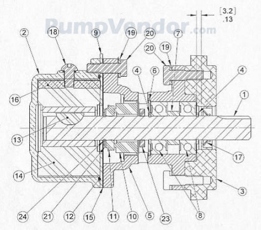 yanmar water pump diagram