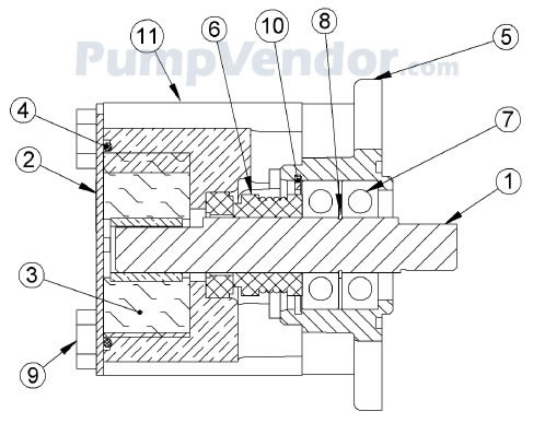 Sherwood G8001 G 8001 Parts List