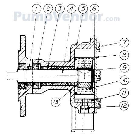 little giant pump parts diagram