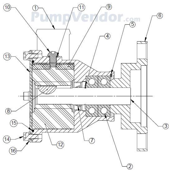 Sherwood P105 P 105 Parts List