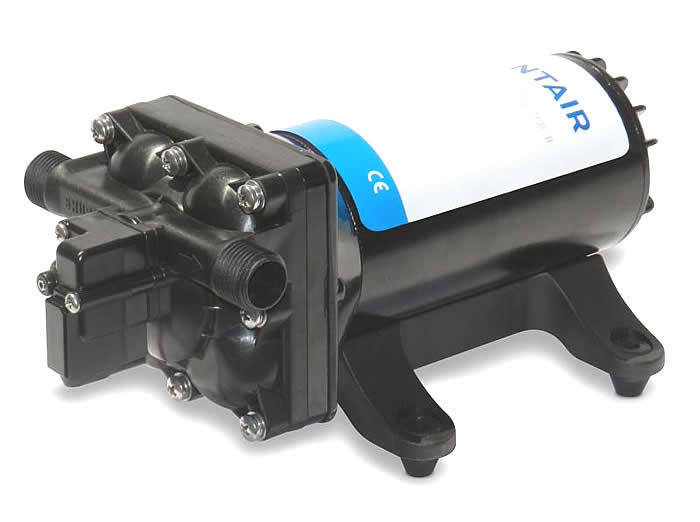 Shurflo 4648 153 e07 diaphragm pump pro baitmaster ii 40 12v ccuart Images