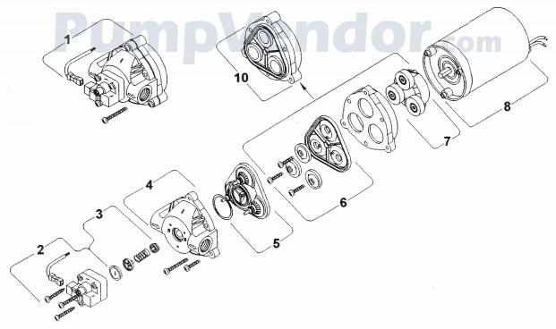 shurflo 8008 943 839 parts list. Black Bedroom Furniture Sets. Home Design Ideas