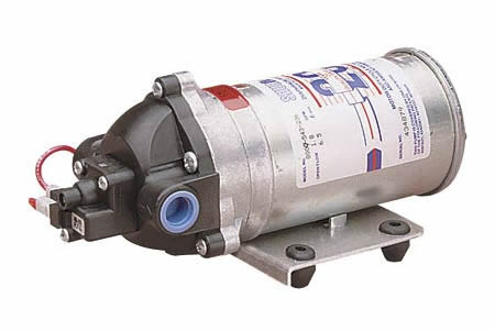 Shurflo 8009 543 236 diaphragm pump 3 chamber 18 gpm 12vdc ccuart Gallery