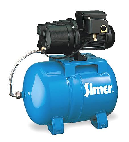 Simer 2802e Shallow Well Jet Pump Tank 3 4hp