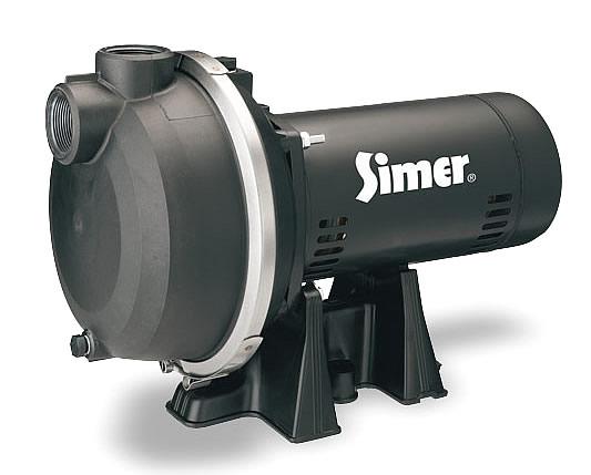 Simer 3415p Sprinkler System Pump 1 1 2hp