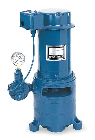 Sta rite mse 7 vertical multi stage jet pump 1hp for Sta rite well pump motor