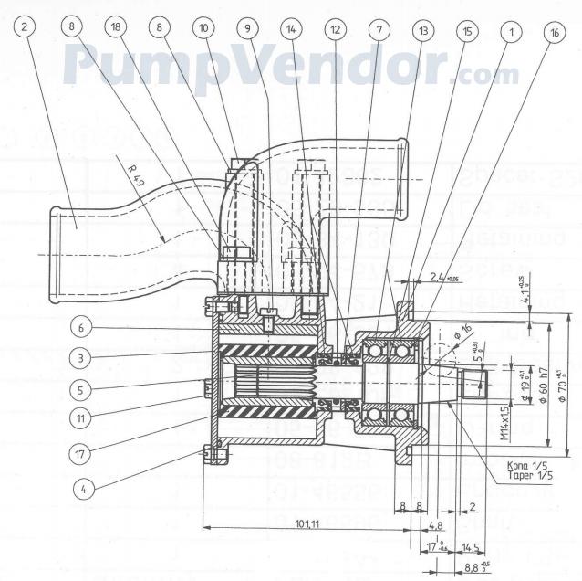 Yanmar 119773 42502 Parts List